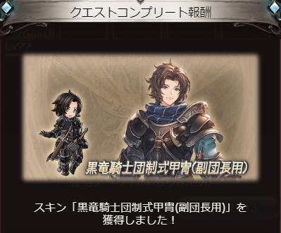 黒竜騎士団制式甲冑(副団長用)