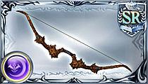朽ち果てた弓の画像