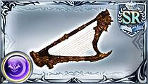 朽ち果てた竪琴の画像